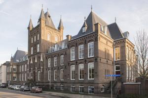 Het huidige huis aan de Maliesingel 77. Vanaf 1998 zijn hier appartementen in gevestigd. In de vroegere kapel van de zusters is de bestuurskamer van de KCU gevestigd.